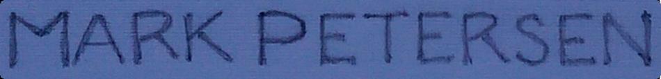 Mark Petersen Logo